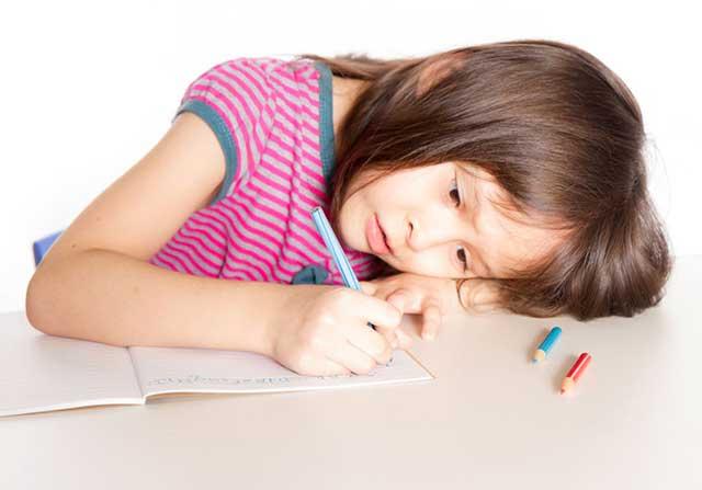 Kind-schrijft